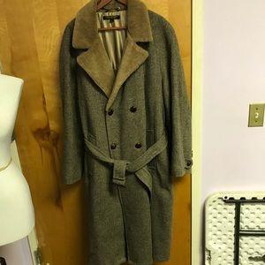 Brooks Brothers Wool long overcoat sz 44L